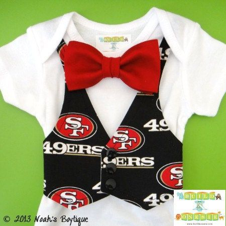 ce15c0be San Francisco 49ers Baby Boy Clothes - San Francisco 49ers baby ...