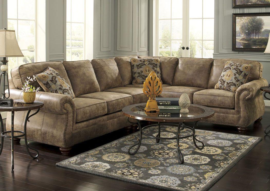 Frugal Furniture - Boston, MA Larkinhurst Earth Extended Sectional ...
