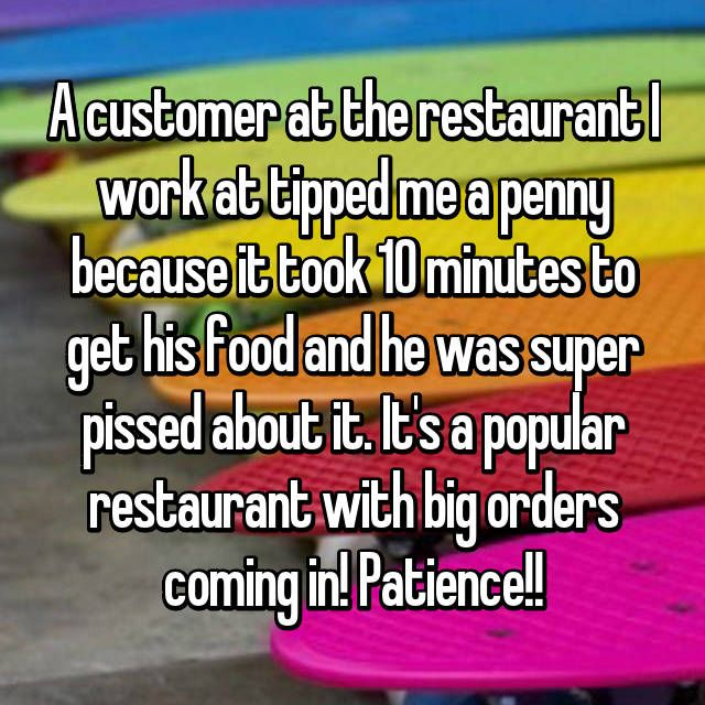 17 Unbelievably Bad Tips Customers Left Their Servers