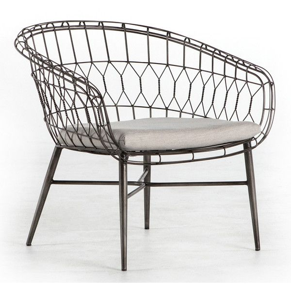 Reminiscent Of Vintage Garden Furnishings The Brittany Chair Offers Inspired Design To Covered Outdoor Es This Metal Accent Features A Curving