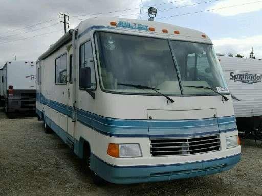 1994 Rexhall AIREX Bus Motorhome RV Camper Van | Vintage