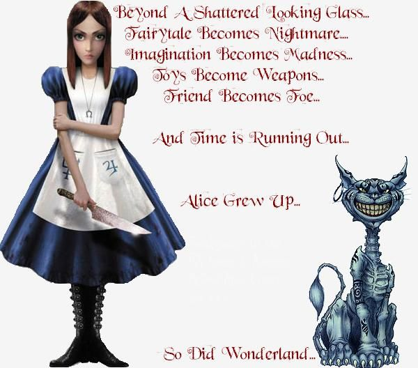American Mcgee 39 S Alice By Toriapawnage On Deviantart