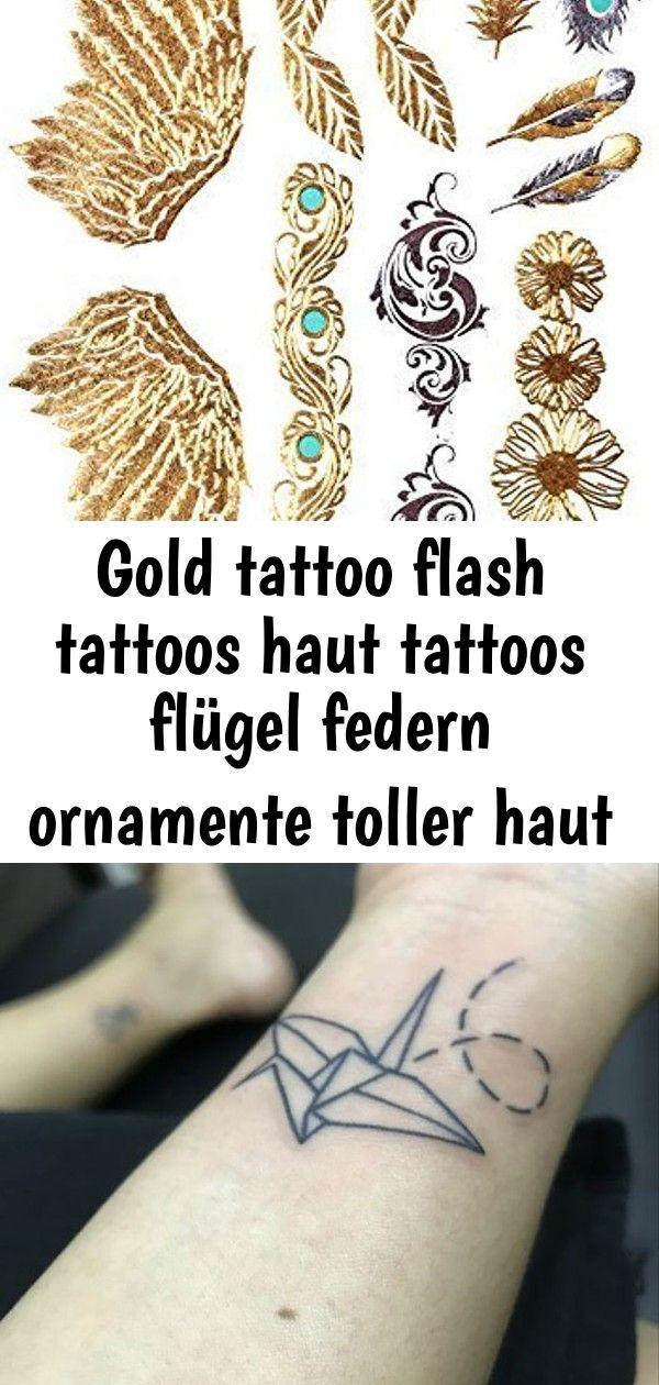 Gold tattoo flash tattoos haut tattoos flügel federn ornamente toller haut schm  8 GOLD Tattoo Flash Tattoos Haut Tattoos Flügel Federn Ornamente toller Haut Sc...
