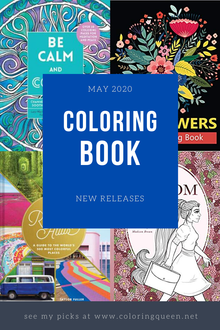 Coloring Books New Releases May 2020 Coloring Queen Books New Releases Coloring Books Books
