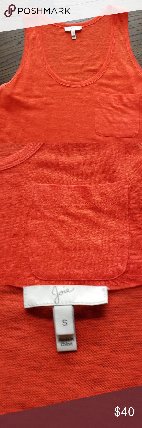 Joie linen tank Fashion, Clothes design, Fashion design