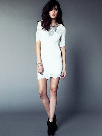 Boatneck Victorian Dress #freepeople