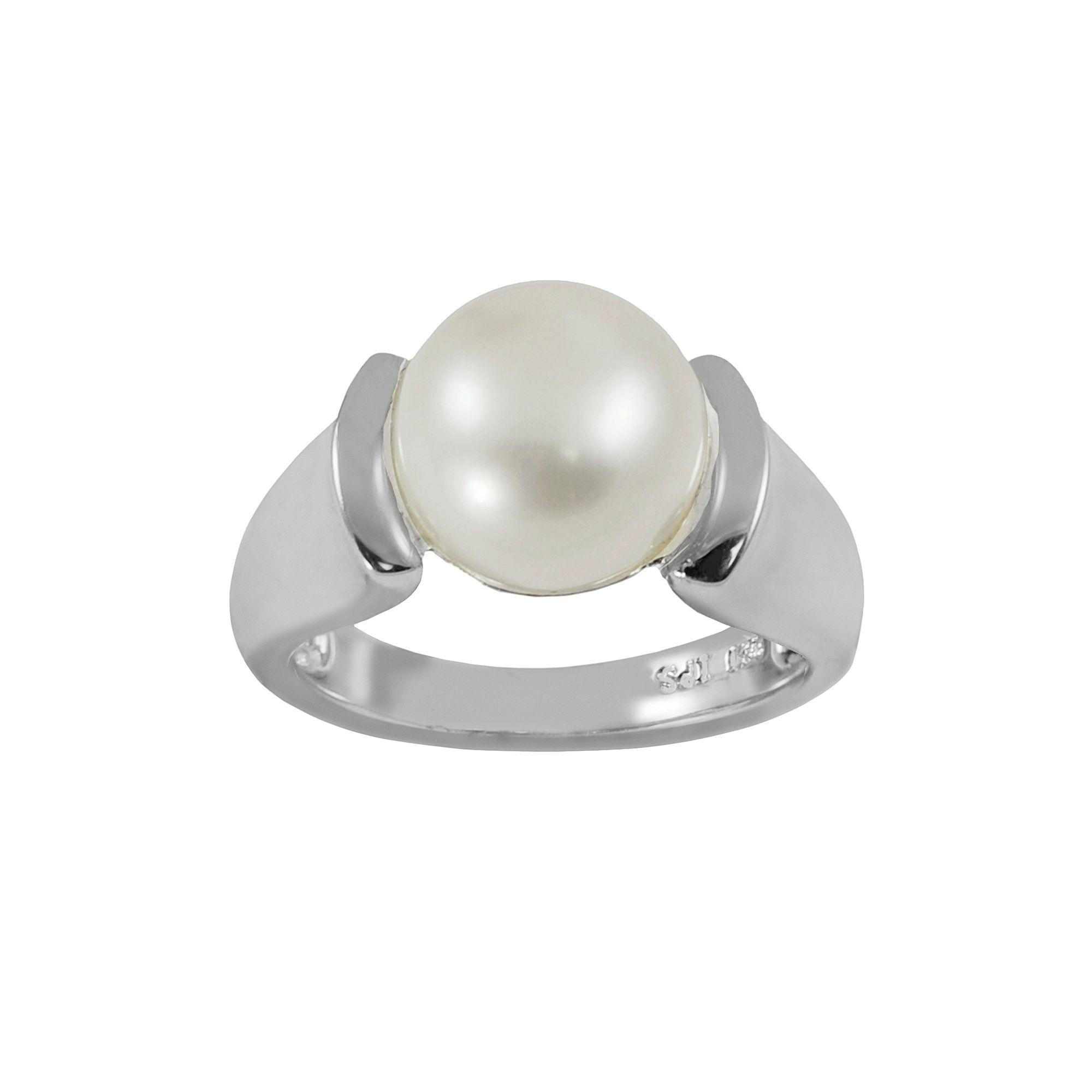 Kohls · Sterling Silver Freshwater Cultured Pearl Ring
