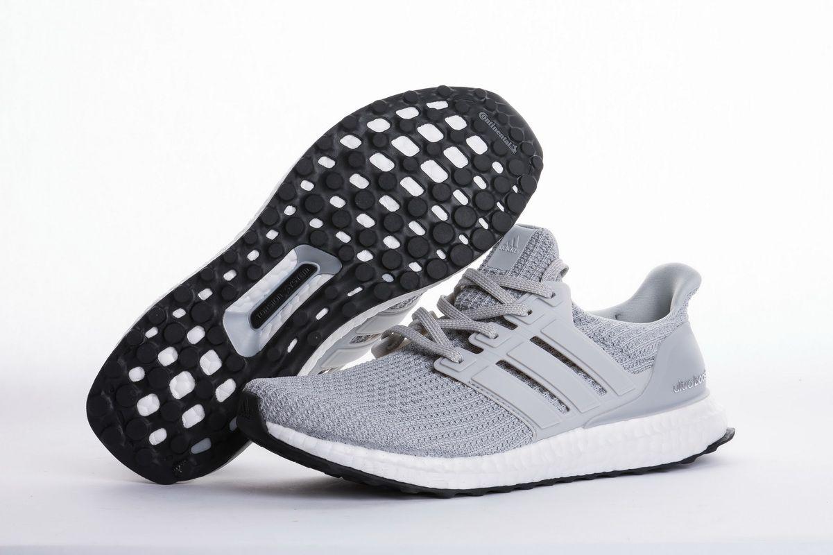 "3347e1df5d80 Adidas Ultra Boost 4.0 ""Light Grey"" BB6167 Real Boost5"
