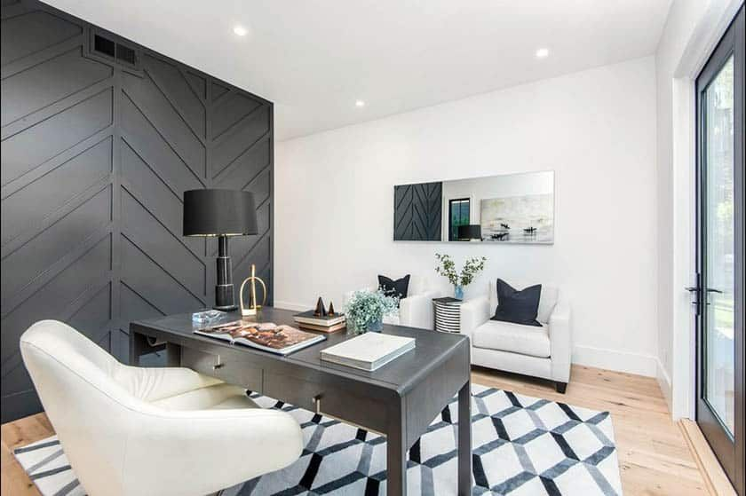 black accent wall design ideas in 2020 black accent on office accent wall color id=76939