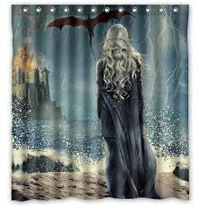 Game Of Thrones Curtains Google Search Game Of Thrones Decor Shower Curtain Bathroom Shower Curtains