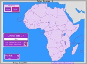 Mapa Politico De Africa Interactivo.Mapas Interactivos Tag Mapa Politico De Africa Map Map Screenshot Africa