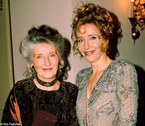 Phyllida Law, with daughter Emma Thompson