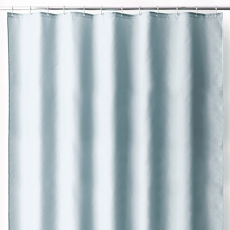 Wamsutta 70 X 72 Fabric Shower Curtain Liner With Suction Cups