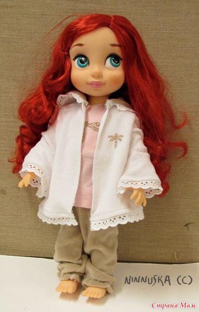 Выкройки платьев для кукол дисней