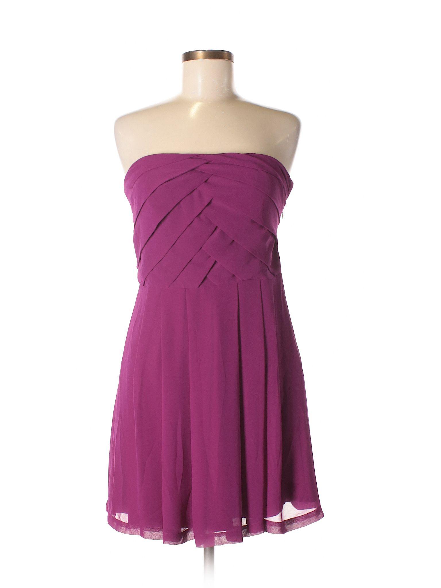 Express Cocktail Dress: Size 6.00 Dark Purple Women\'s Dresses ...