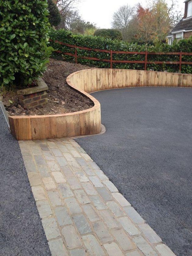 Awesome Sloped Backyard Landscaping Ideas_29   Sloped ... on Retaining Wall Ideas For Sloped Backyard id=21380