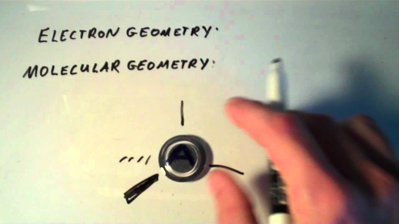Molecular Geometry Vs Electron Geometry  The Effect Of Lone Pairs