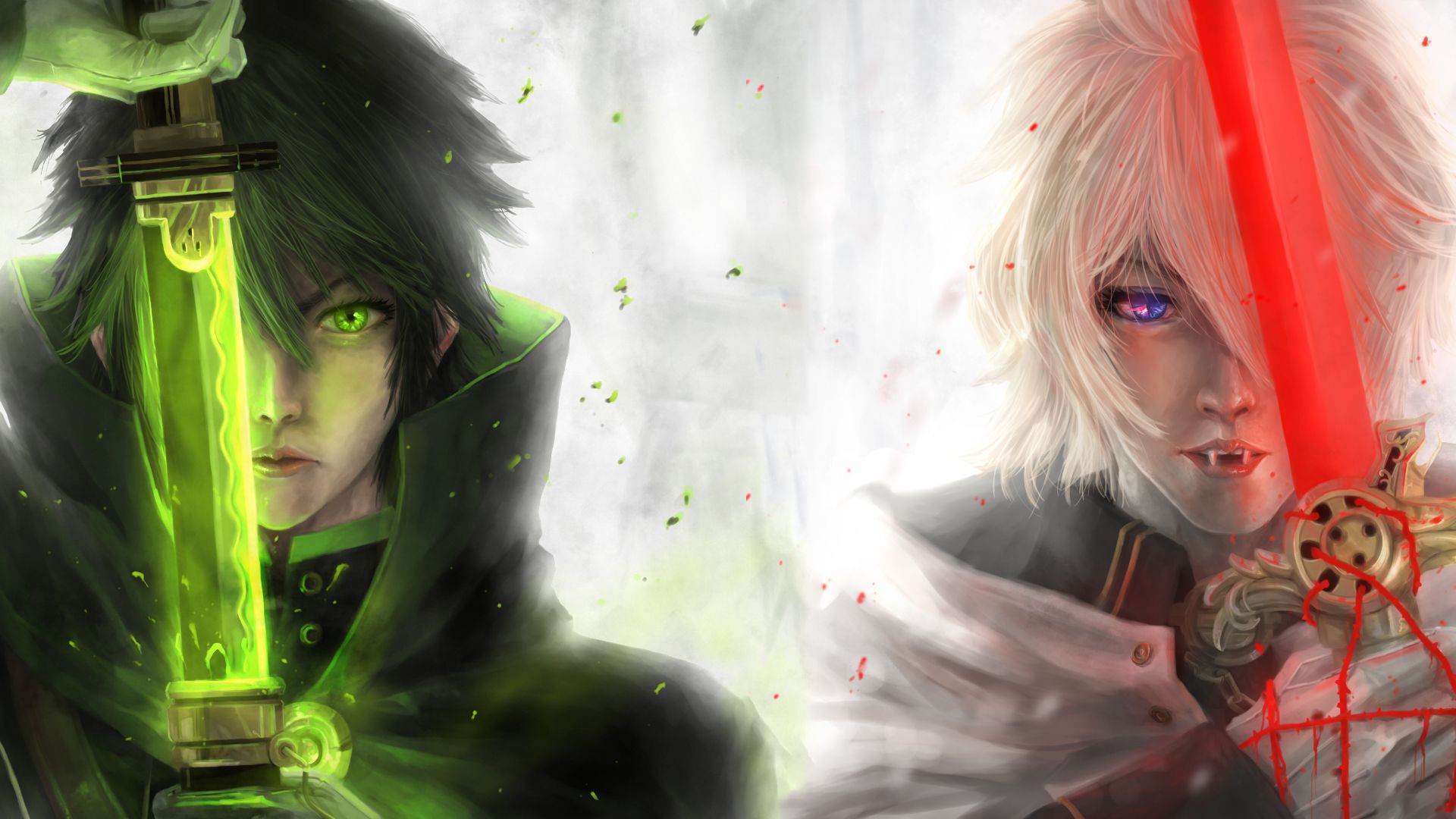 View Download Comment And Rate This 1920x1080 Seraph Of The End Wallpaper Wallpaper Abyss Seraph Of The End Seraphim Owari No Seraph