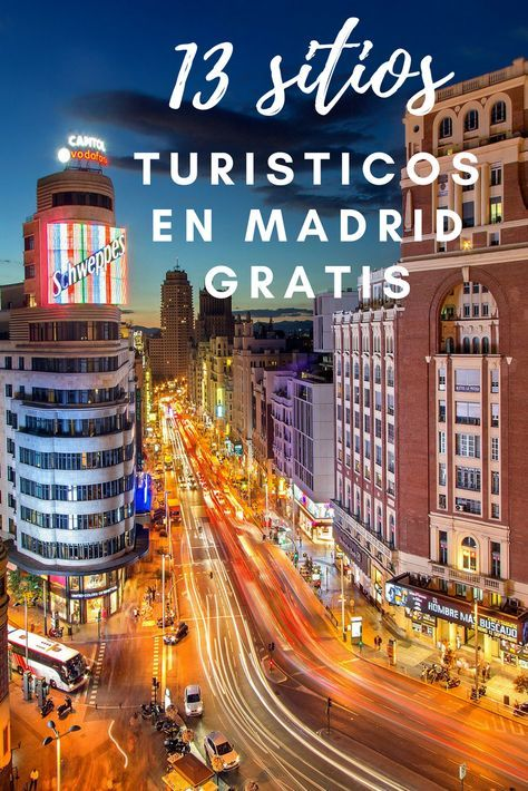 13 sitios tur sticos en madrid gratis que no puedes for Lugares turisticos de espana madrid
