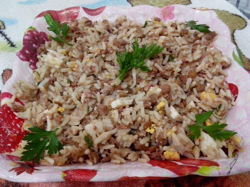 Arroz Com Lentilha Recipe Ethnic Recipes Food Rice