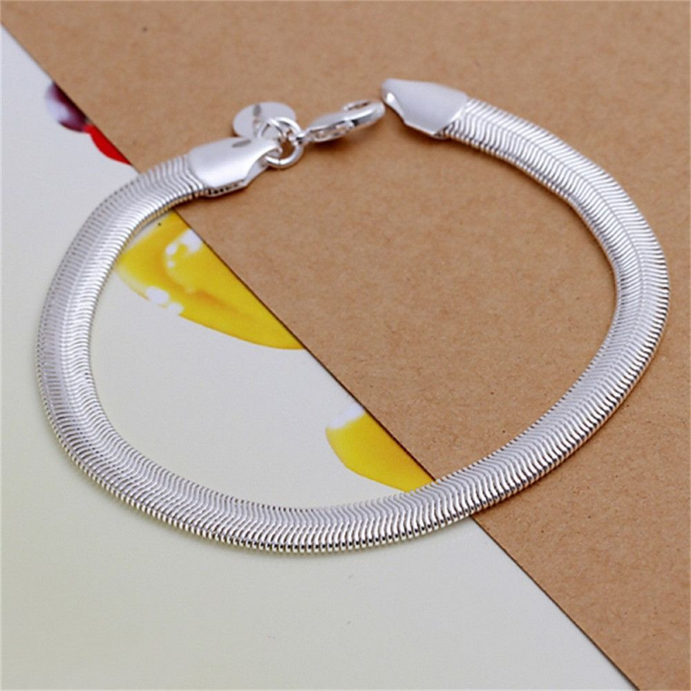 H latest classy design silver plated bracelet factory direct