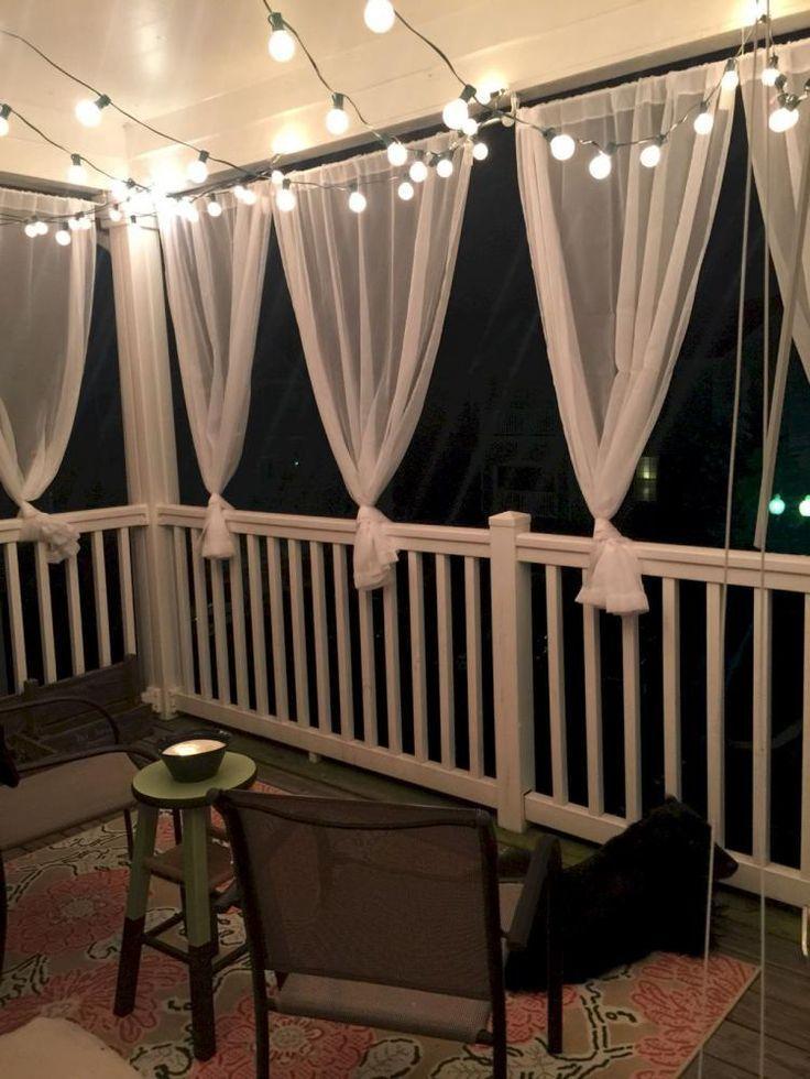 50+ Inspirierende Balkonideen - Balkon Deko #kleinerbalkon
