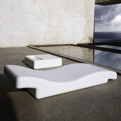 Gandia Blasco Tumbona 356 Modern Outdoor Chaise Lounge Chair