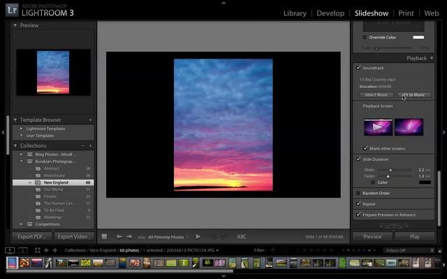 Lightroom 3 - Adding Multiple Songs to a Slideshow   Adobe