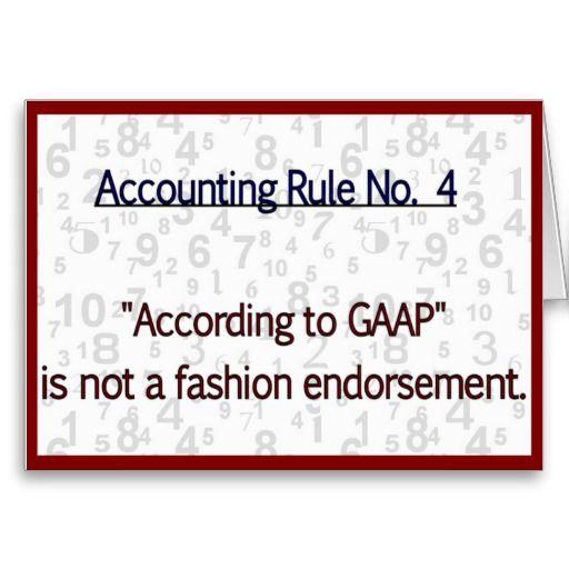 Accounting Rule Gaap Zazzle Com Accounting Humor Accounting Jokes Accounting