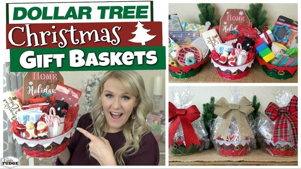 DOLLAR TREE CHRISTMAS GIFT BASKET IDEAS 🎄 Budget Christmas Gift Ideas – YouTu…