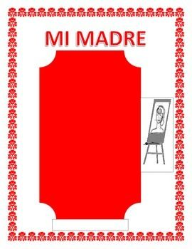This exciting lesson is the perfect tool to celebrate Mothers Day in your classroom. You will be able to review colors, physical characteristics and adjectives. It is a great tool to have students describe their mom, her personality and practice Tiene and Es statements.