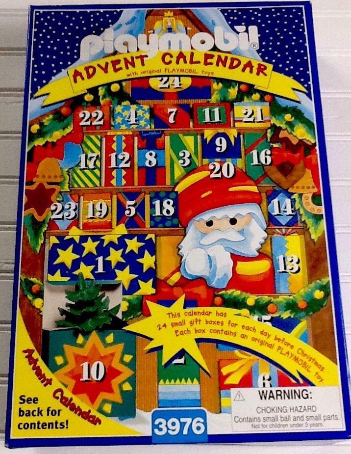 Playmobil Advent Calendar 1998 Nib Playmobil