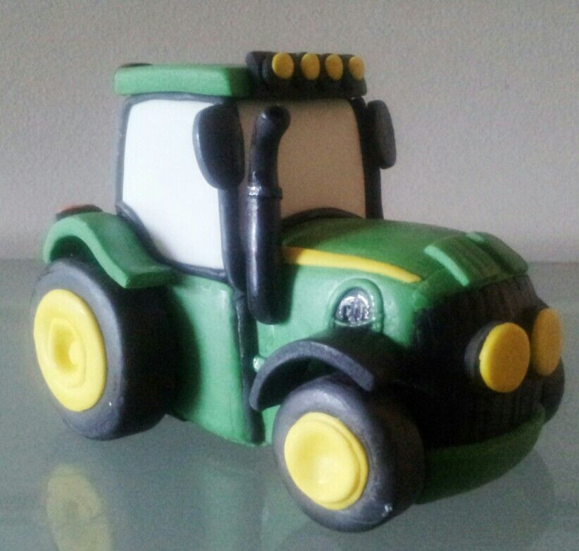 Tractor Traktor Kuchen Fondant Traktor Anleitung Traktor