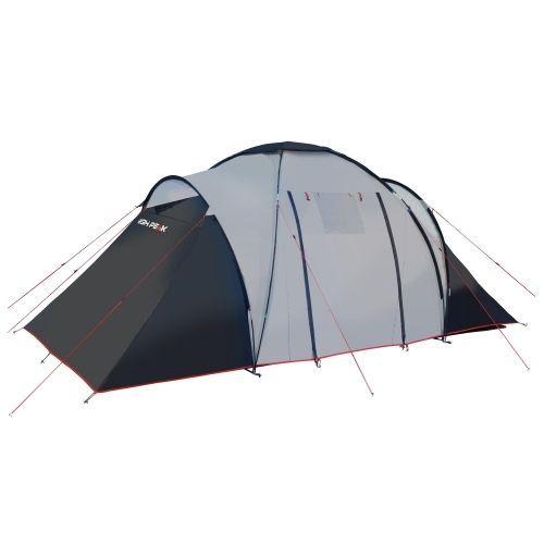 High Peak Como 6 hellgrau/dunkelgrau/rot Familienzelt 6-Personen Family Tent in  sc 1 st  Pinterest & High Peak Como 6 hellgrau/dunkelgrau/rot Familienzelt 6-Personen ...