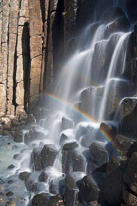 Prismas basalticos en el bello estado de Hidalgo