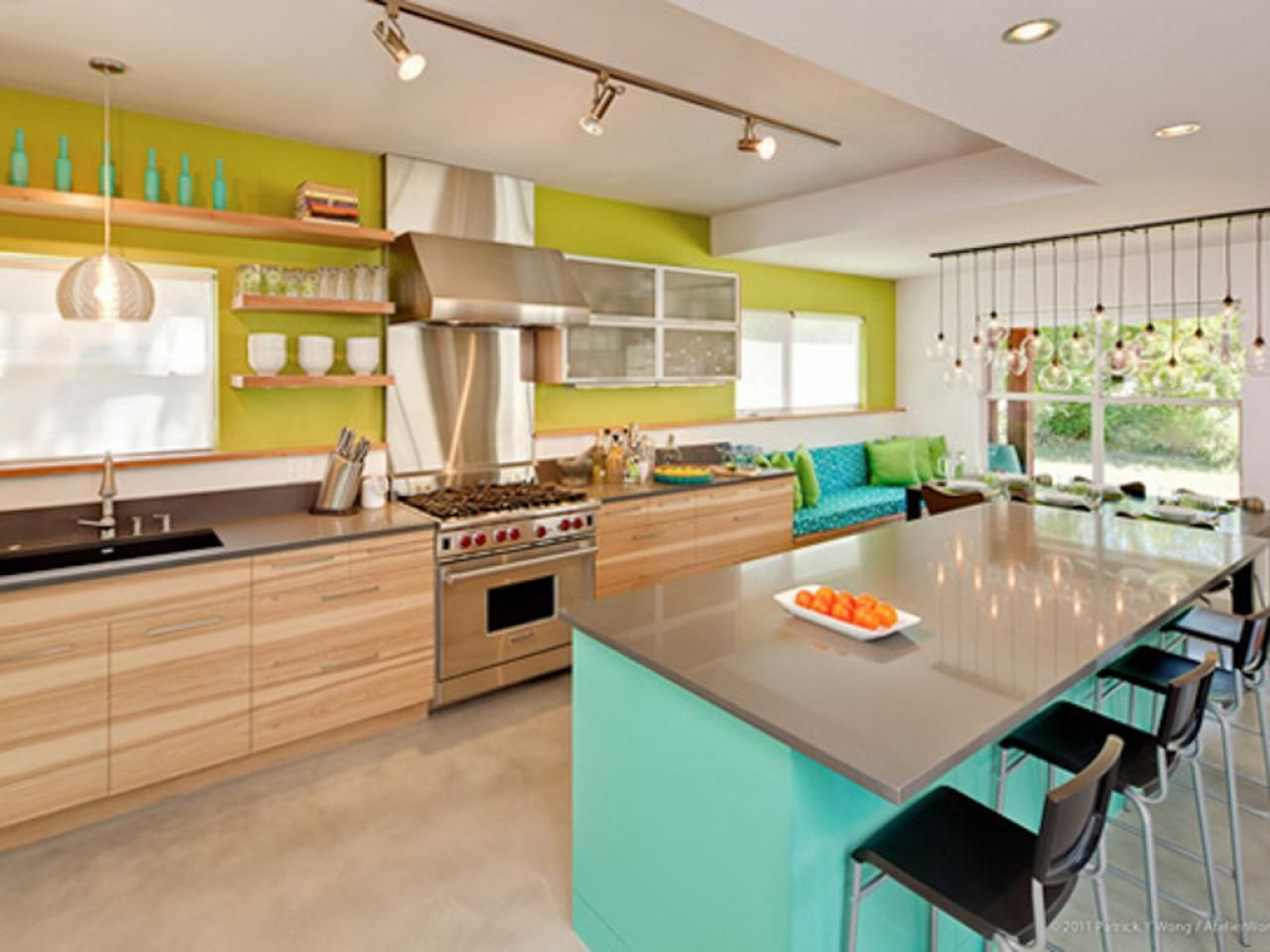 popular kitchen paint colors pictures ideas from - Colorful Kitchen Ideas