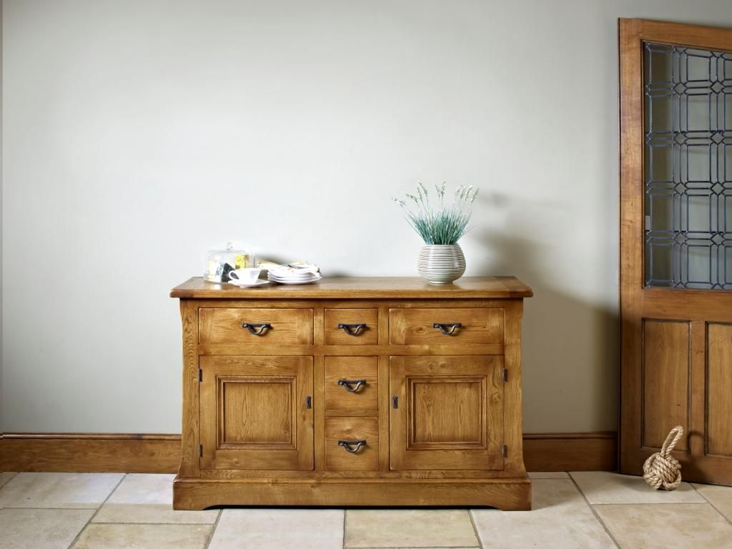 Marvelous Chatsworth Sideboard (CT2877) Oak Drawers And Cupboards Stately Sideboard  From Wood Bros (Furniture