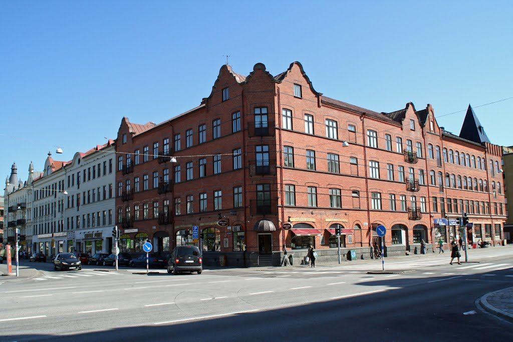 Malmö, Korsningen Bergsgatan, Ystadsgatan