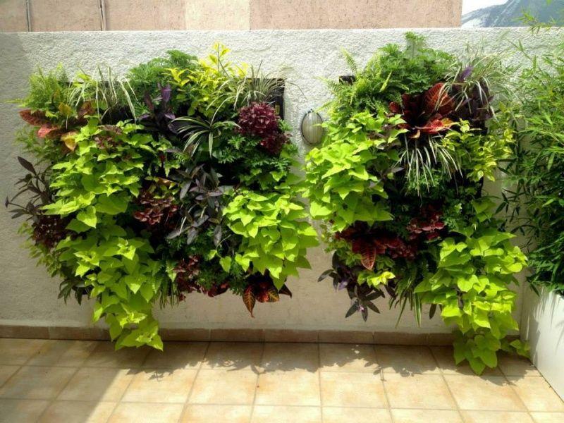 cuadros con plantas artificiales para pared decorklass