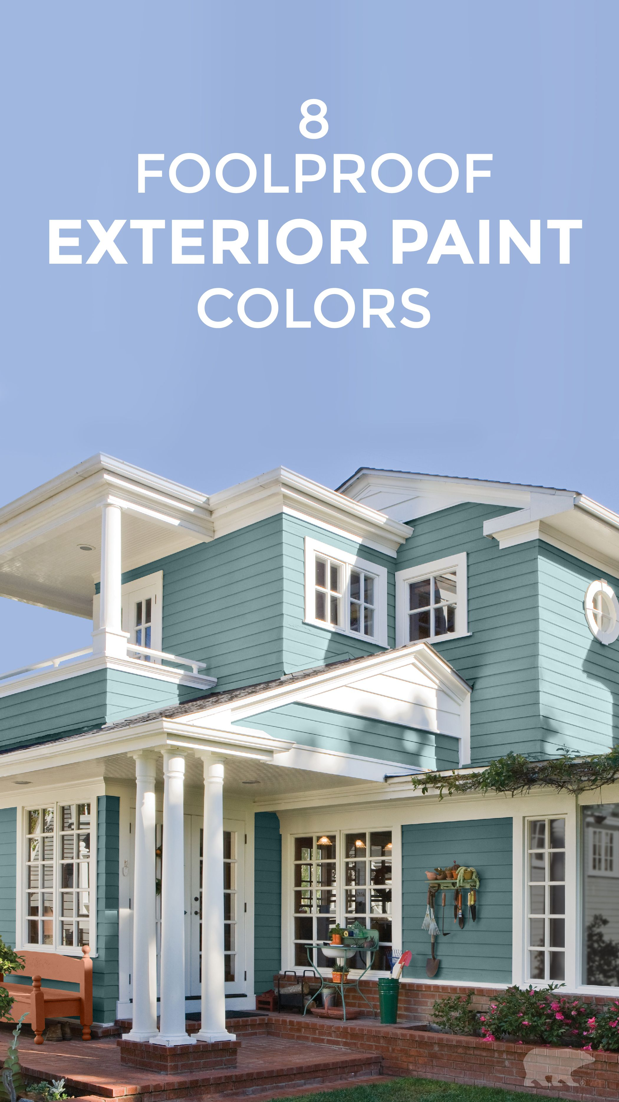 how to choose exterior paint colors for my house