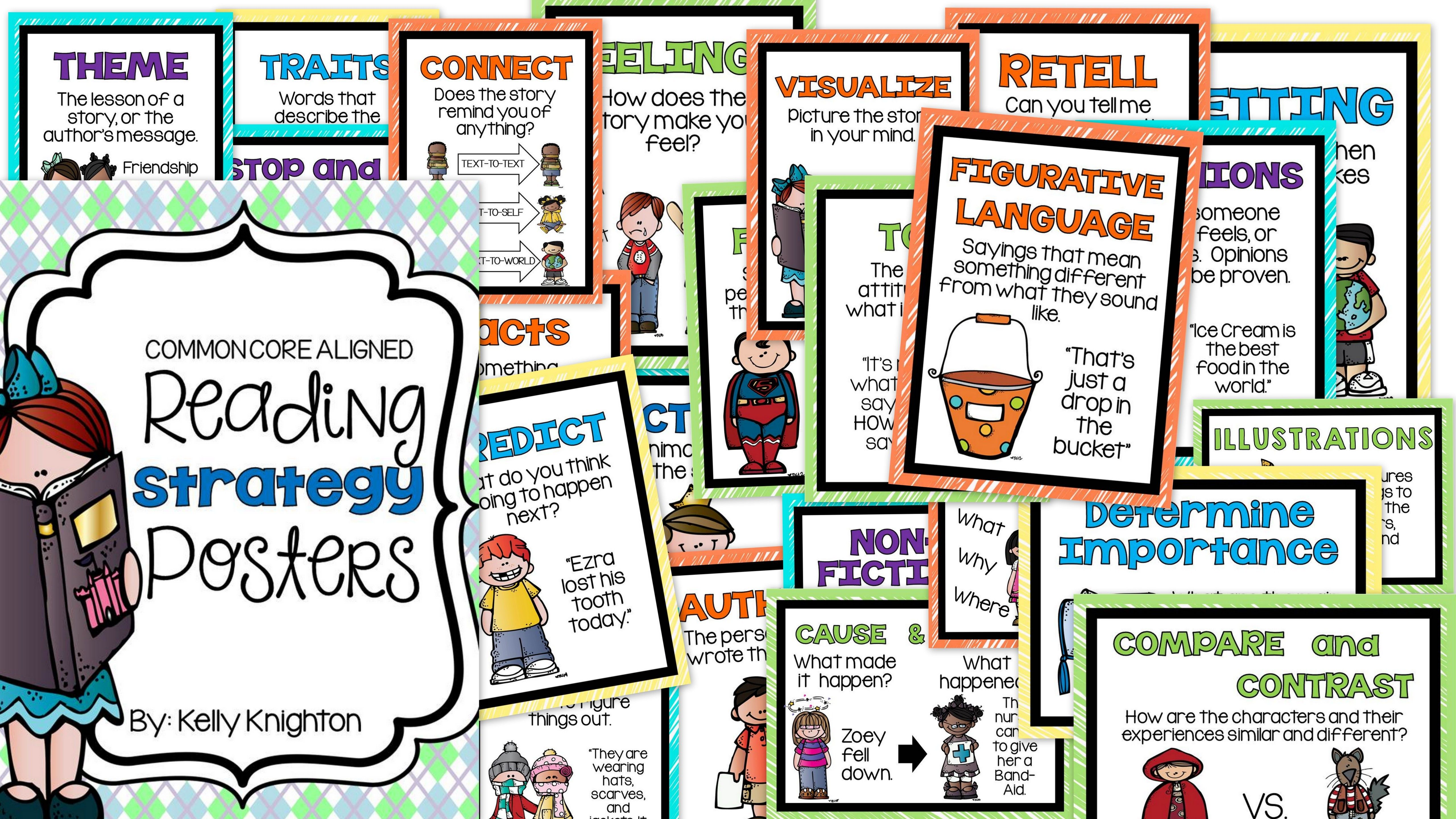 Reading Comprehension Worksheets Amp Posters For The Common