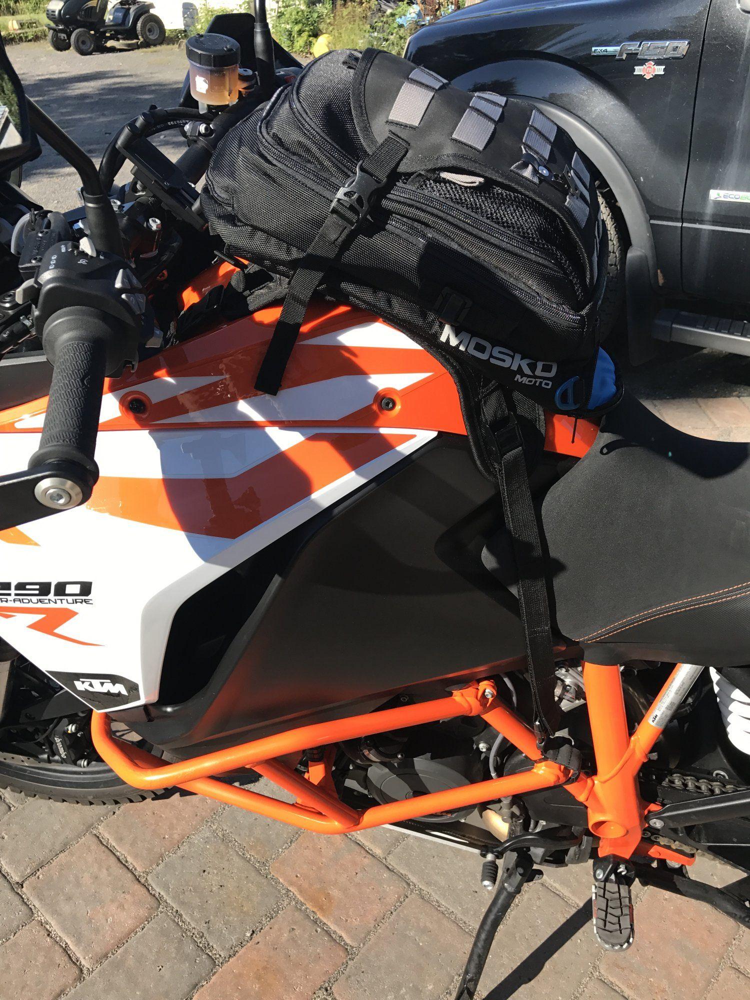 Mosko Moto Nomad Tank Bag on KTM 1290 Super Adventure R