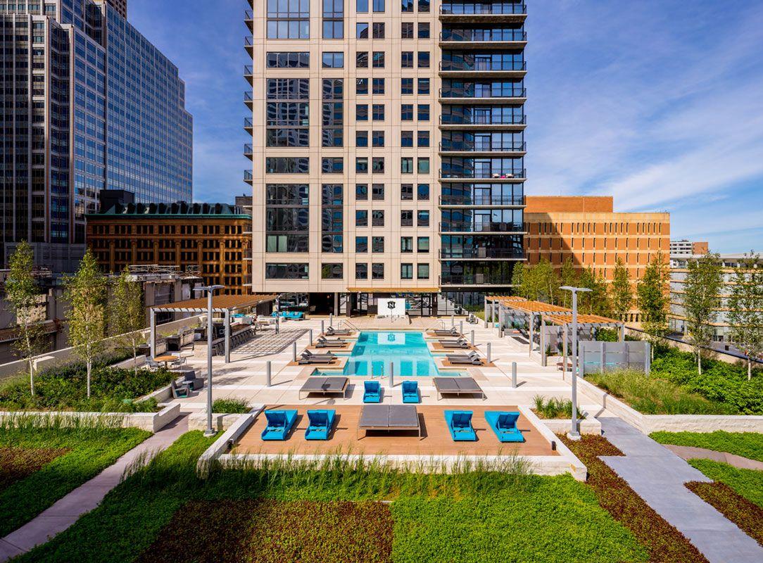 Nic On 5th Residences Downtown Minneapolis Apartments Minneapolis Apartment Residences Architect
