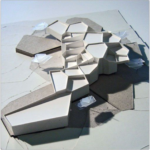 Proyecto Casa De Campo En Toledo Architecture Model Making Hexagonal Architecture Layout Architecture