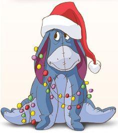 i love christmas eeyore