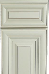 white kitchen mitered raised panel cabinet door and drawer styles ...