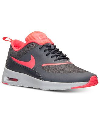 wholesale sales look for classic Nike Women's Air Max Thea Running Sneakers from Finish Line ...