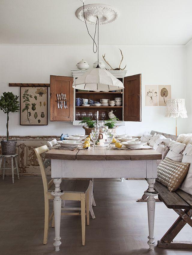 Koteja ja keittiöitä
