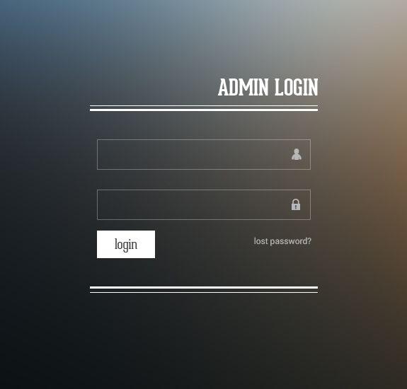 Http Www Freebiesgallery Com Admin Login Design