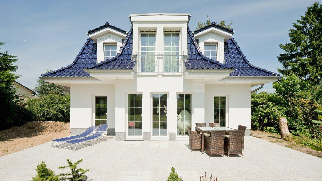 Haus Bauen Hamburg exklusive häuser haus föhr 158 frontalansicht terrasse